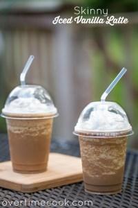Skinny Iced Vanilla Latte