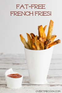 Air Fried French Fries and an Air Fryer Review and Giveaway