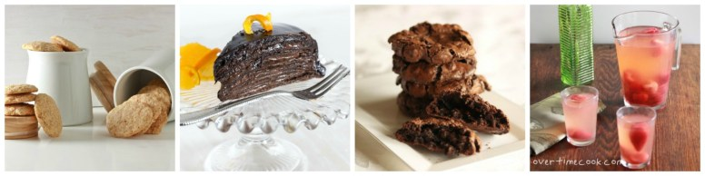 Passover Desserts, Snacks and Drinks  overtimecook.com