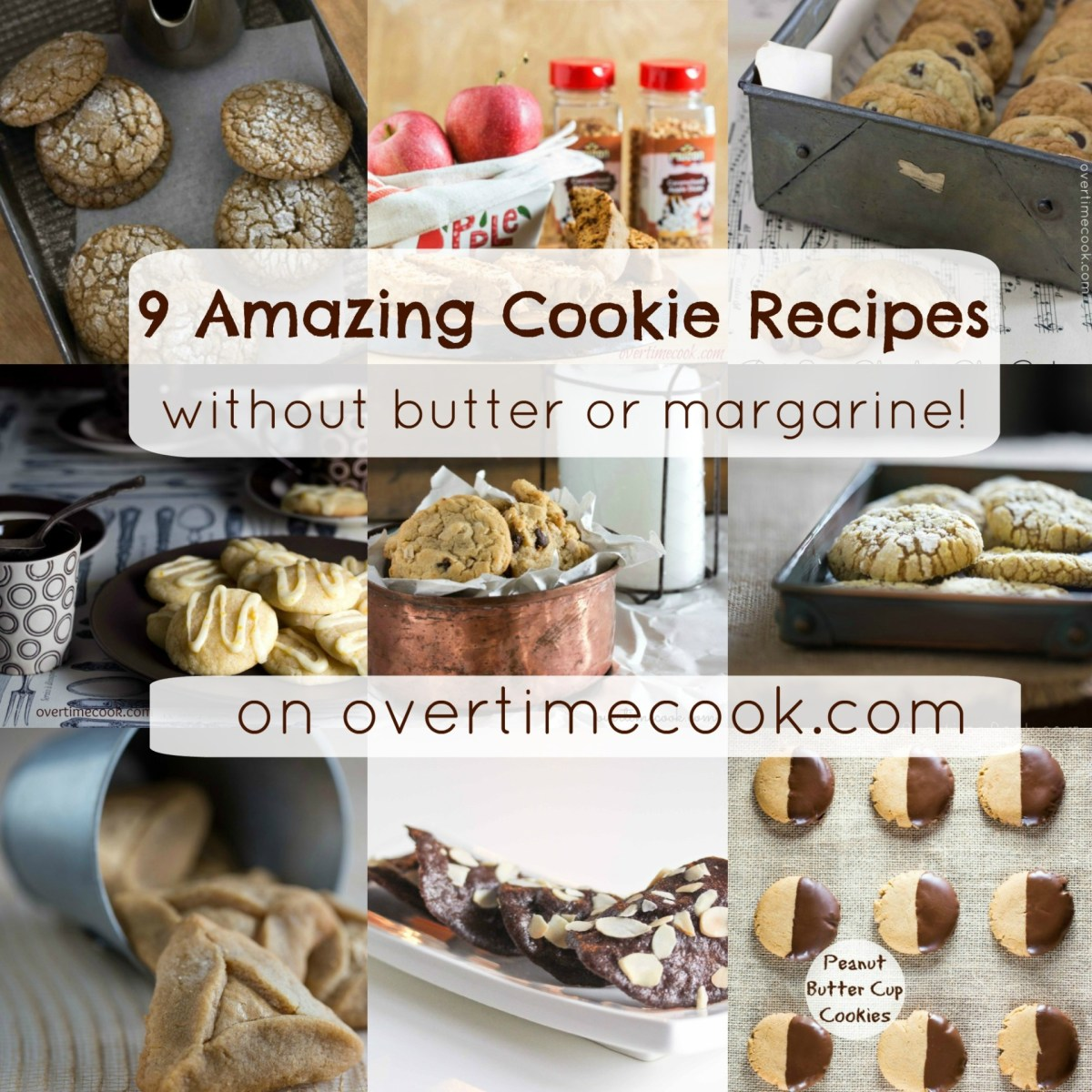 9 Amazing Cookie Recipes Without Butter or Margarine