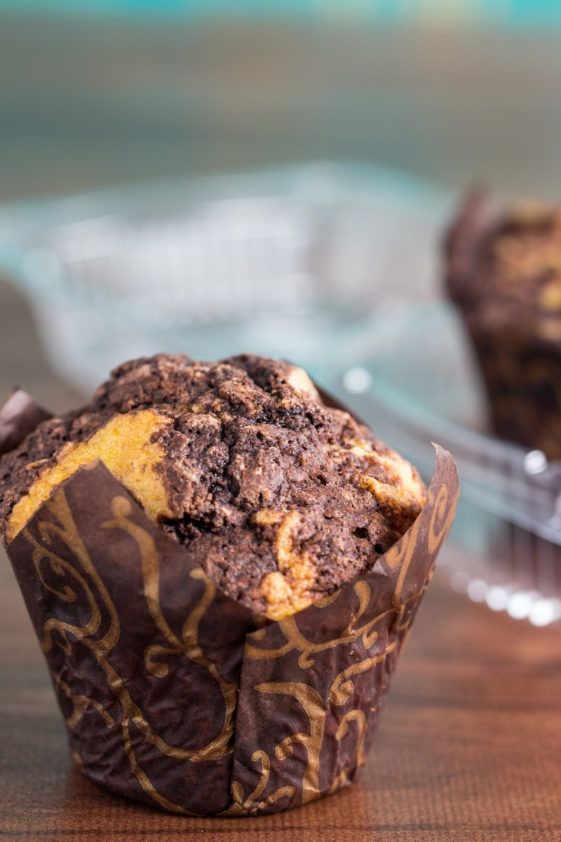 Chocolate Corn Muffins + 5 Year Bloggiversary