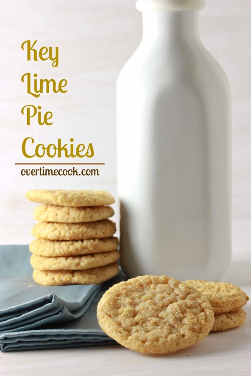 Key Lime Pie Cookies on Overtime Cook