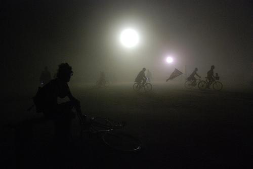 Burning Man White out