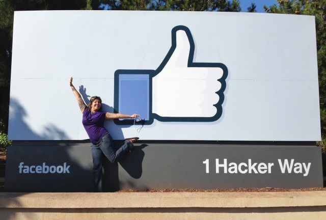 Facebook sign in Silicon Valley