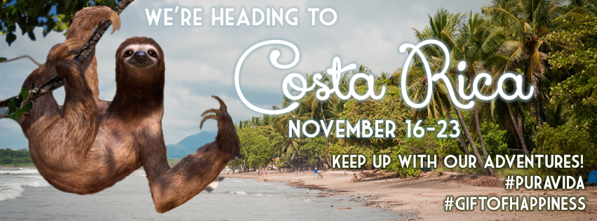 going to Costa Rica