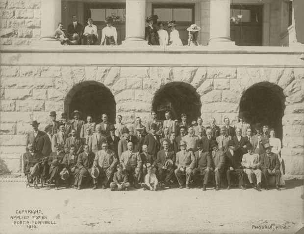 Members of the Arizona Constitutional Convention Phoenix, Arizona --October 10 to December 9, 1910