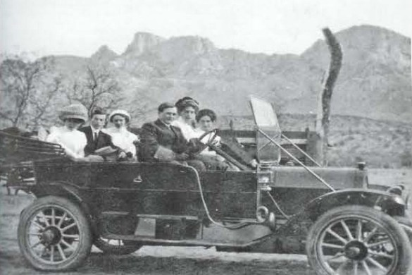 Pusch Family at the Ranch, circa 1900sPI