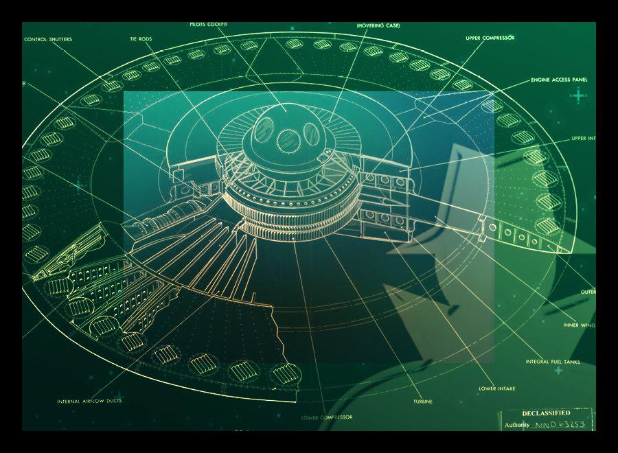 Espiões e discos voadores