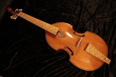 6 string bass viol after Henry Jaye 1649