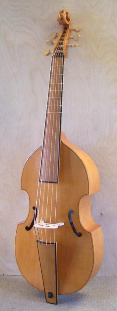 Bass viol after Barak Norman