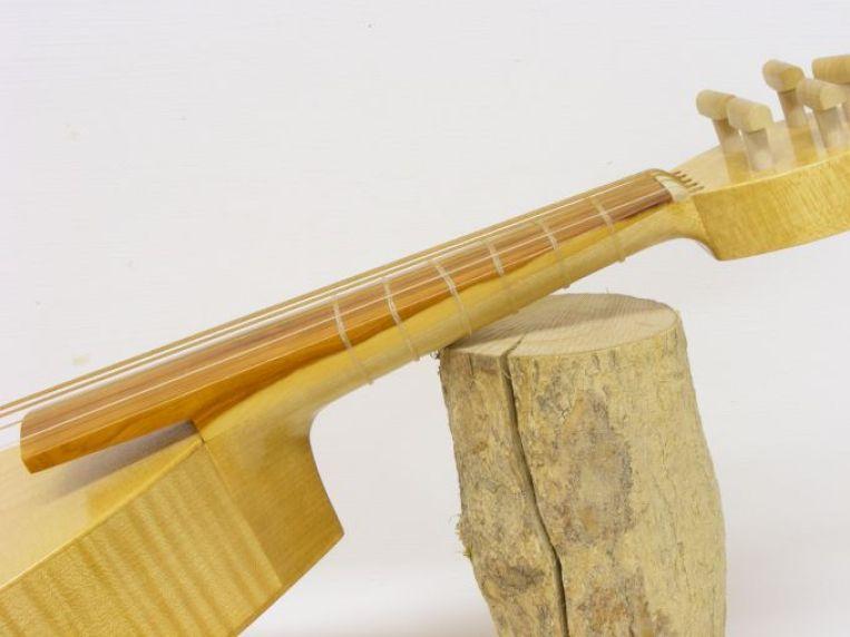 Yew fingerboard