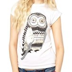 Zehui Owl Shirt Short Sleeve Tee.500 (Zehui Owl Shirt Short Sleeve Tee)