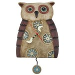 Big Hoot Owl Pendulum Clock.500 (Big Hoot Owl Pendulum Clock)