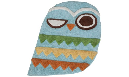 Give A Hoot Owl Bathroom Rug