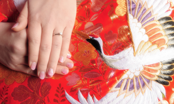 Engagement_ring_with_red_kimono_and_crane___Flickr_-_Photo_Sharing_