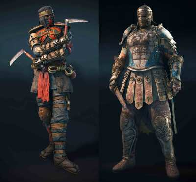 Centurion & Shinobi full in-game models : forhonor