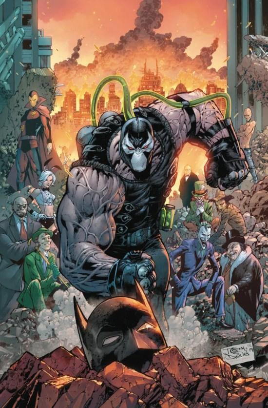 Batman #75 cover by Tony Daniel. (Image Credit: DC Comics)