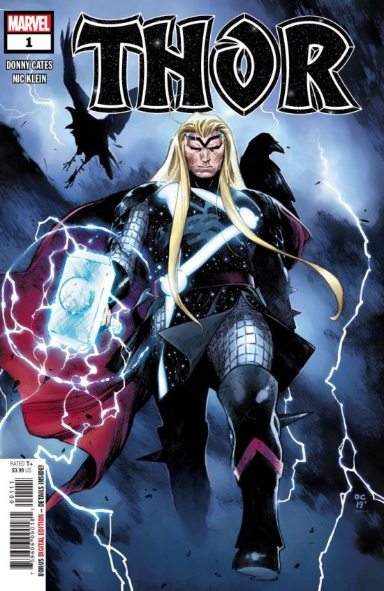 Thor #1 cover by Olivier Coipel. (Image Credit: Marvel Comics)