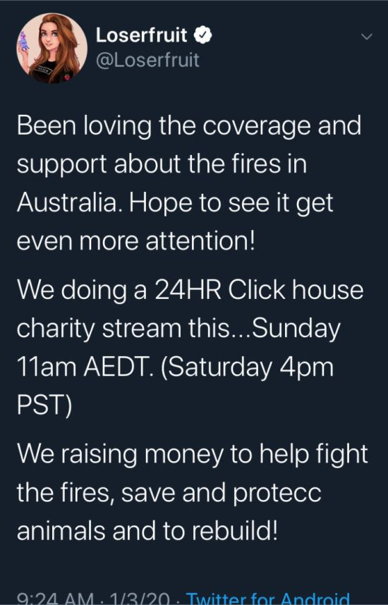 Charity Stream