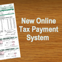 New Online Tax Payment System
