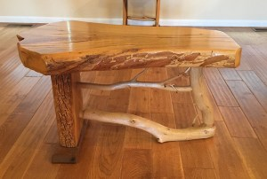 Ozarks Art Gallery | Hand-Crafted Furniture ~ Small Bench by Gary Duncan