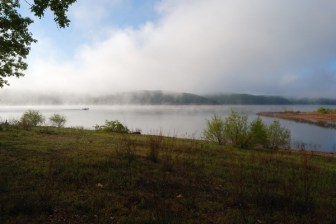Morning Mist on Truman Lake