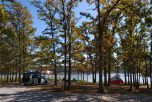 Campsite A20, Berry Bend Campground, Harry S Truman Lake, Missouri