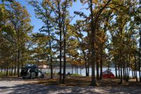 Camping at Berry Bend on Harry S. Truman Lake