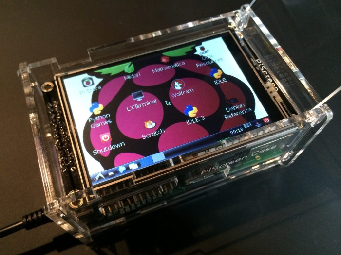 PiScreen for the RaspberryPi