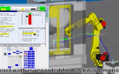 Fanuc Auto Backward Exit