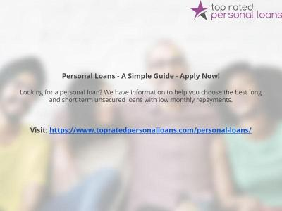 Calaméo - Personal Loans - A Simple Guide - Apply Now!