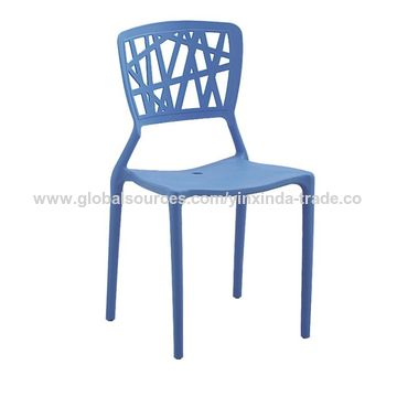 L  China Polypropylene Chair Modern Plastic Dining Chairs Stackable Chair