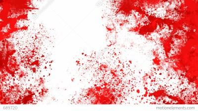 Blood Splashes Stock Animation   689720