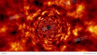 Fire Tunnel Rotating Vortex Fly Through Background 애니메이션 ...