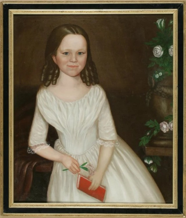8: Pair of American School Portraits