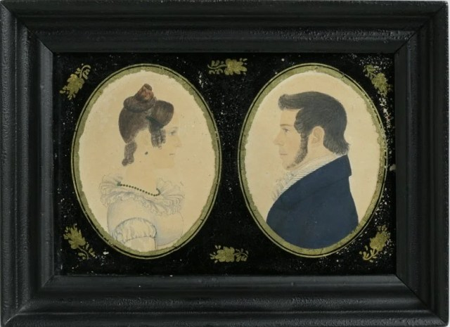 21: Attributed to Rufus Porter (American, 1792-1884)