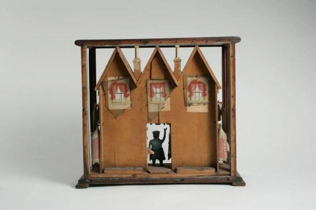 26: Model Butcher Shop in Old Case