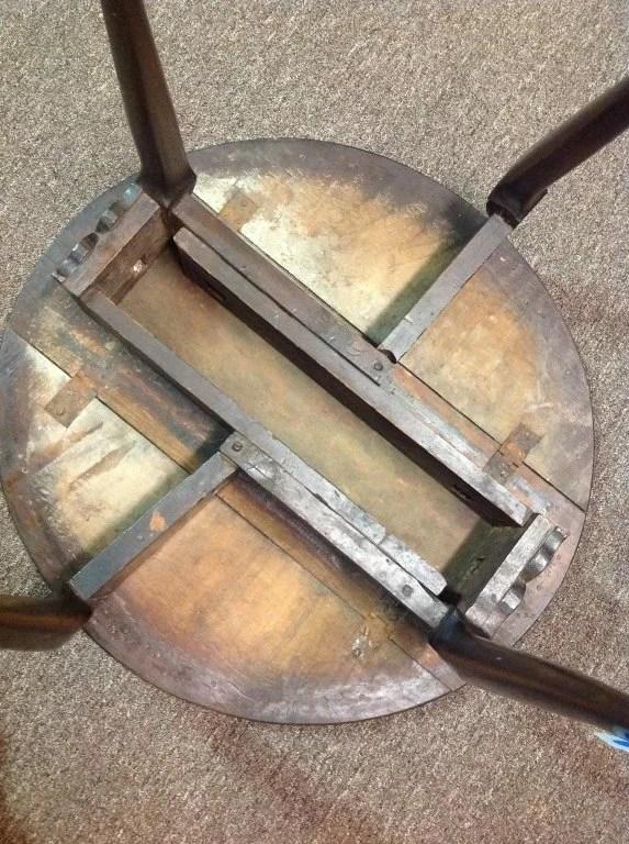 63: Diminutive Queen Anne Maple Drop-Leaf Table