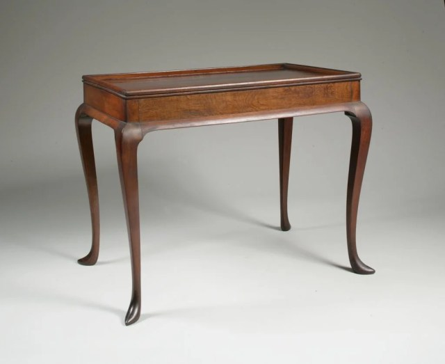 68:  The Brown Family Queen Anne Mahogany Tea table