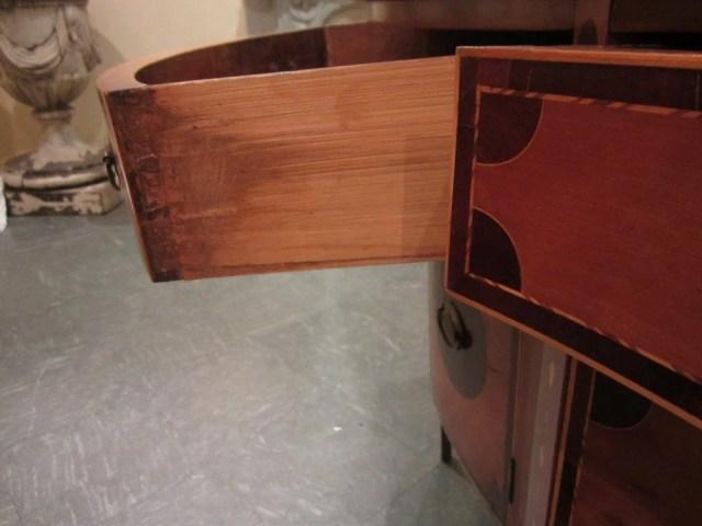 97: Federal Serpentine-Front Inlaid Sideboard