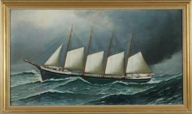 272: Antonio Jacobsen (American, 1850-1921)
