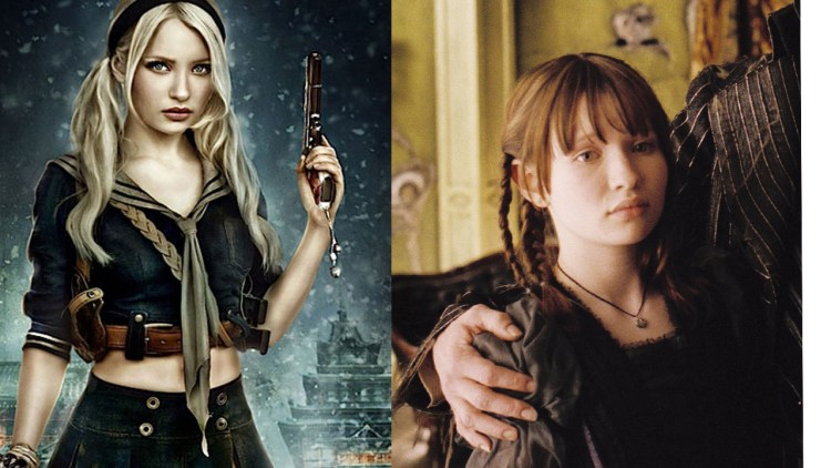 Emily Browning i Lemony Snicket og Sucker Punch. (Foto: Cruel & Unusual Films/Paramount pictures)