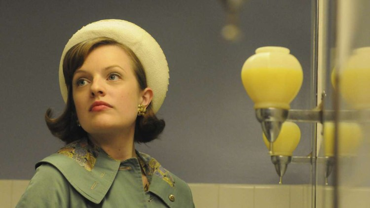 Elisabeth Moss spiller Peggy Olson i Mad Men S04. (Foto: Star Media Entertainment)
