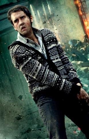 Nilus Langballe er en viktig figur i den siste filmen. Her fra en filmplakat. (Harry Potter Publishing Rights © J.K.R. <br> Harry Potter characters, names and related indicia are trademarks of and © Warner Bros. Ent.  All Rights Reserved.)
