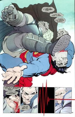 Faksimile frå The Dark Knight Returns (Bilete: DC).