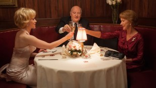 Scarlett Johansson, Anthony Hopkins og Helen Mirren i Hitchcock (Foto: 20th Century Fox).