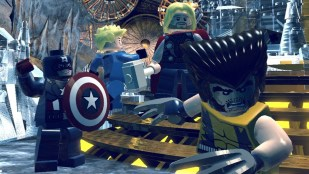 Captain America, Human Torch, Thor og Wolverine i LEGO Marvel Super Heroes (Foto: Warner Bros. Interactive Entertainment).