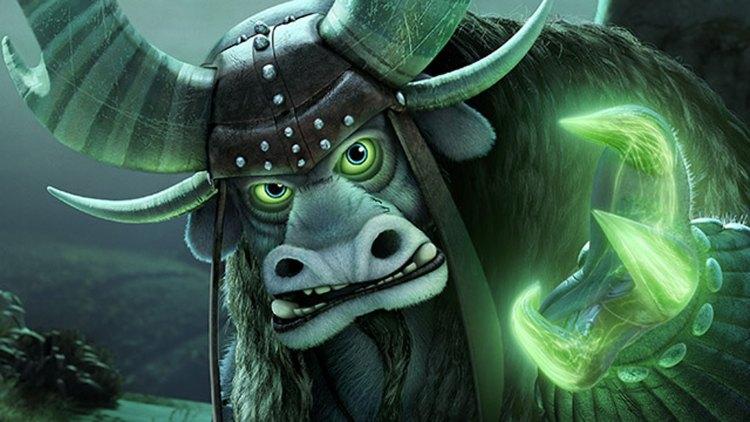 Nils Ole Oftebro har stemmen til Kai i Kung Fu Panda 3. (Foto: DreamWorks Animation LLC.)