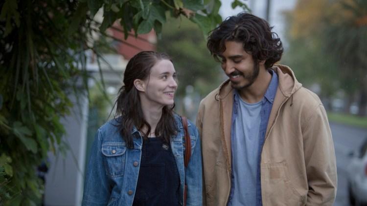 Rooney Mara og Dev Patel spiller kjærester i Lion. (Foto: Norsk Filmdistribusjon)