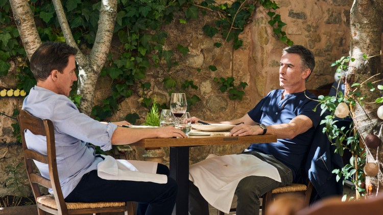 Rob Brydon og Steve Coogan i A Trip to Spain. (Foto: Tour de Force).